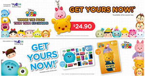 EZ-Link launches new Disney Tsum Tsum ez-link cards and EZ-Charms! From 16 Oct 2017