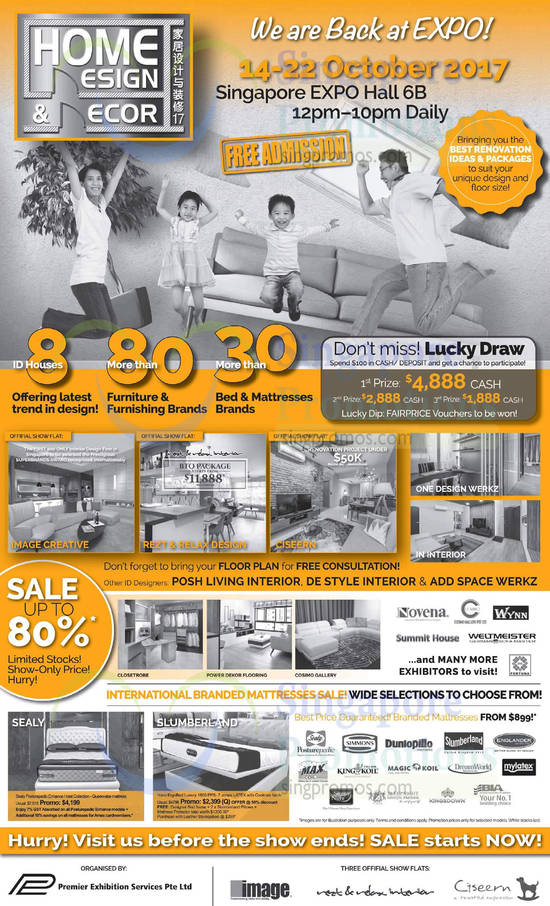 expo home design. Share  Home Design Decor furnishing fair at Singapore Expo From 14