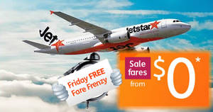 Jetstar: $0 fares to Bangkok, Siem Reap and more one-day promo! Ends 20 Oct 2017, 11pm