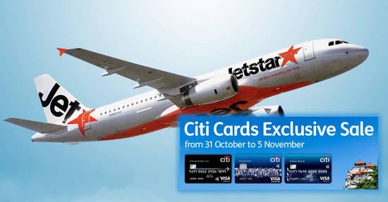 Jetstar Exclusive fares 31 Oct 2017
