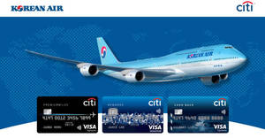 Korean Air: 10% to 20% OFF fares with Citibank cards! From 23 Oct – 30 Nov 2017
