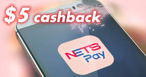 Enjoy $5 cashback on your first NETSPay purchase with DBS/POSB cards! From 20 Oct – 31 Dec 2017
