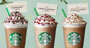 Starbucks festive beverages including Peppermint Mocha are returning! From 25 Oct 2017