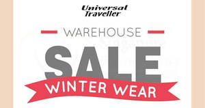 Universal Traveller up to 70% OFF warehouse sale from 17 Oct 2017