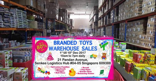 Branded Toys Warehouse feat 7 Nov 2017