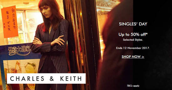 Charles Keith FLASH 10 Nov 2017