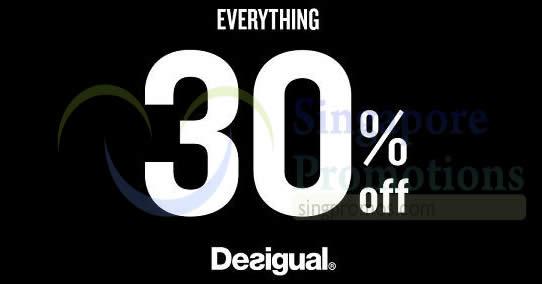 Desigual feat 26 Nov 2017