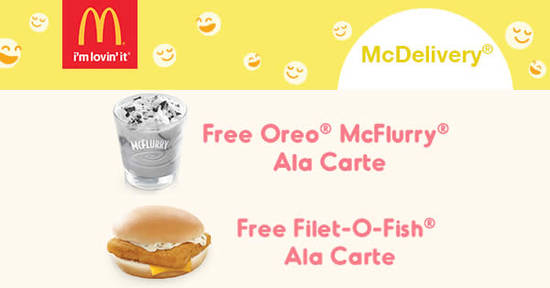 McDonalds Mcdelivery feat 30 Nov 2017