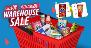 Meiji (Yan Yan, CP-Meiji, Hello Panda, etc) warehouse sale returns! From 17 – 18 Nov 2017