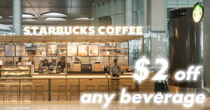 Starbucks: $2 off ANY beverage, $1 off ANY food item & more coupons! From 13 – 19 Nov 2017