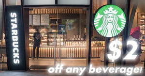 Starbucks: $2 off ANY beverage, Buy-2-get-1-FREE drinks & more coupons! From 20 – 26 Nov 2017