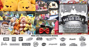 Takashimaya Christmas Mega Sale – Disney Tsum Tsum, Nerf, vtech & more! From 22 – 27 Nov 2017