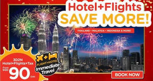 Air Asia Go: Grab a 3D2N vacation fr $90/pax (Hotel + Flights + Taxes)! Ends 7 Jan 2018