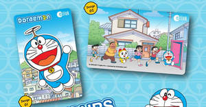 EZ-Link launches new Doraemon ez-link cards! Available progressively at ticket offices from 15 Dec 2017