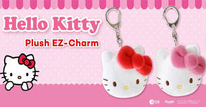 EZ-Link launches new Hello Kitty Plush EZ-Charms! Available from 12 Dec 2017