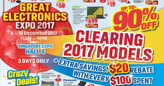 Great Electronics Expo 1 Dec 2017