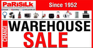 Parisilk: Up to 90% OFF biggest warehouse sale for 3-days only! From 15 – 17 Dec 2017