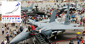 Singapore Airshow 2018 tickets now available! Public days from 10 – 11 Feb 2018