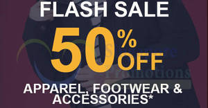 Timberland: 50% OFF apparel & footwear 48hr FLASH sale! From 11 – 12 Dec 2017