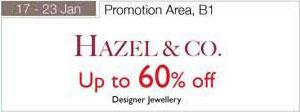 17 – 23 January Up To 60 Percent Off Hazel Co Designer Jewellery