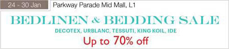24 – 30 January Bedlinen Bedding Up To 70 Percent off