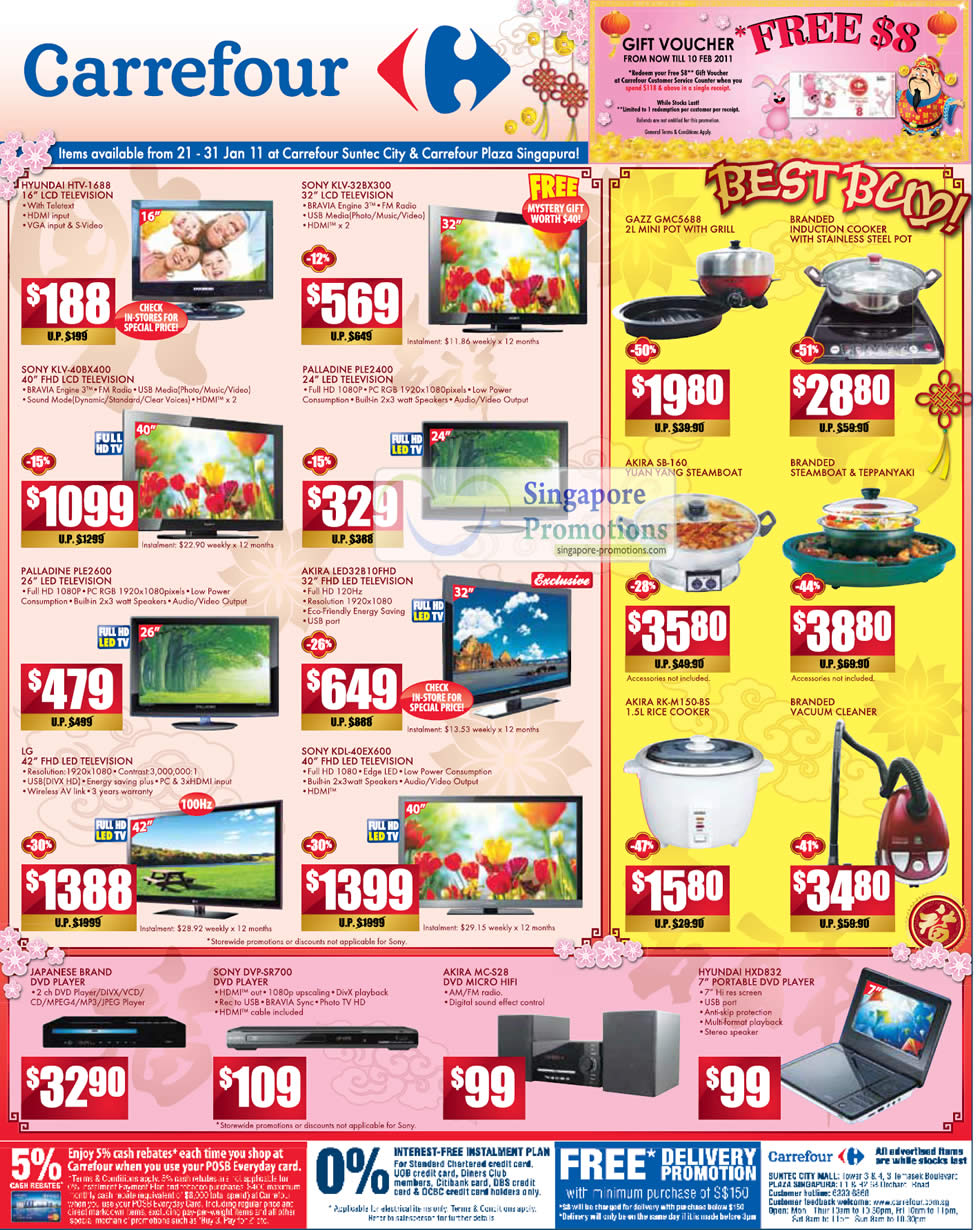 Electronics, TV, Kitchenware, DVD Players, HiFi