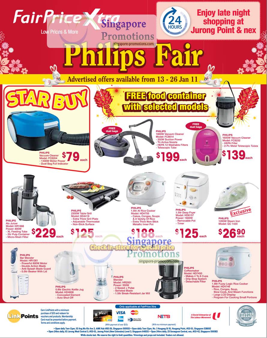 FairPrice Philips Fair January 2011