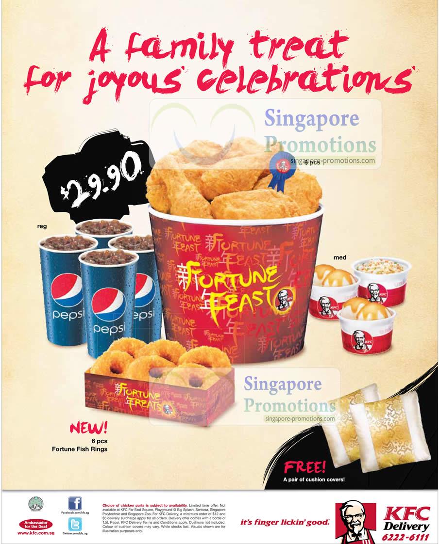 KFC Fortune Feast January 2011