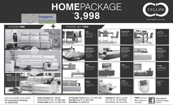 Cellini Home Package 3998 May 2020