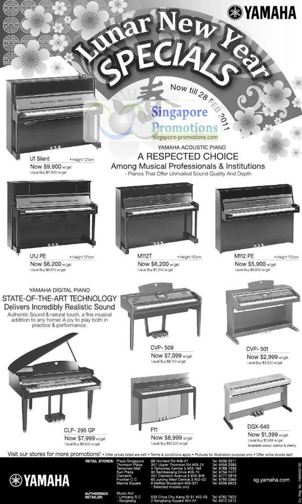 Yamaha Silent Piano Price Singapore
