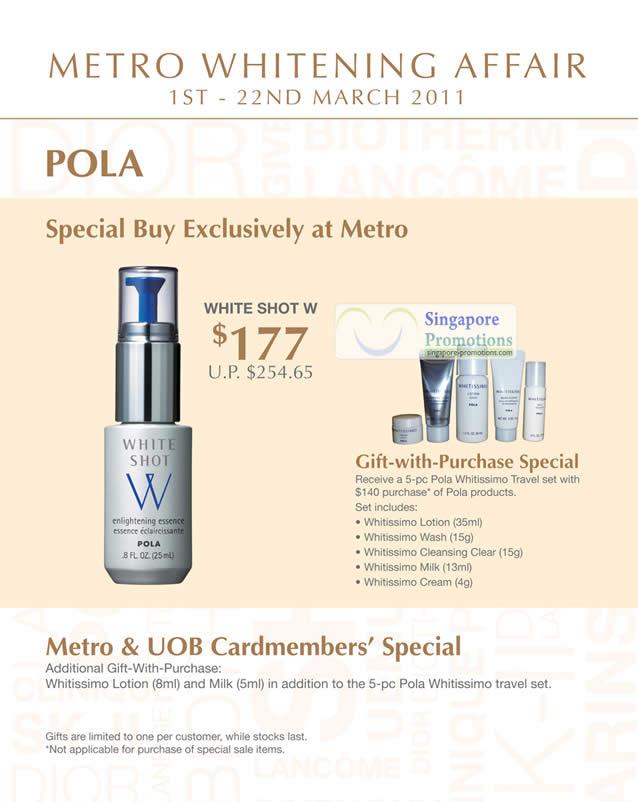 Pola White Shot W