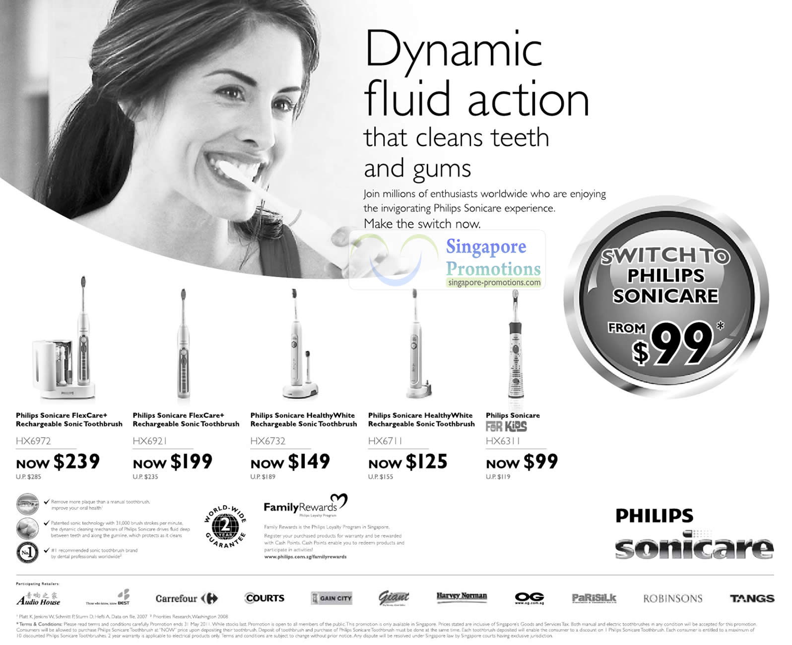 Philips Sonicare 21 Apr 2011