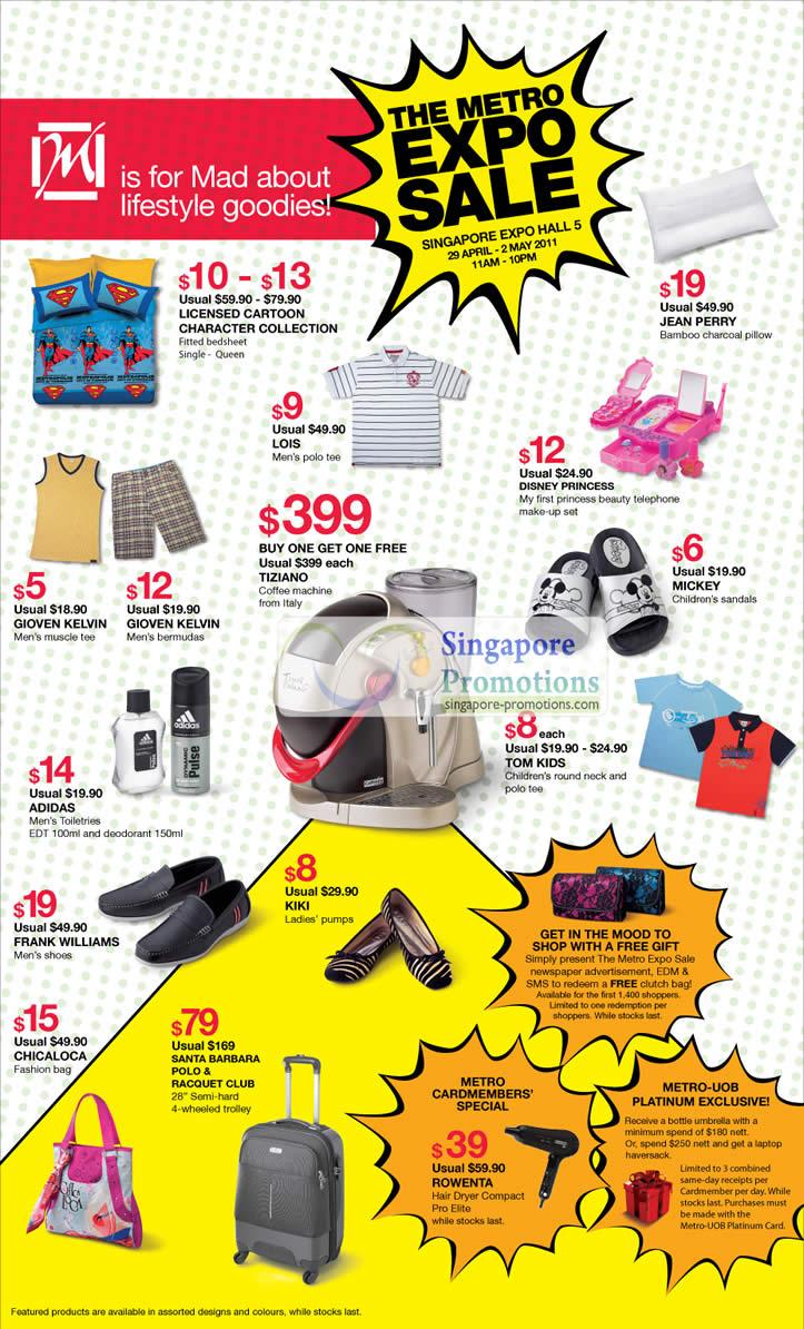 The Metro Expo Sale 29 Apr 2011