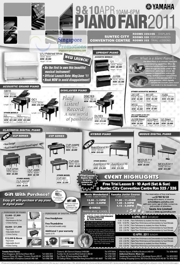 Yamaha Lessons Singapore