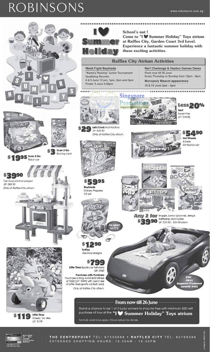 27 May Children, Kids, Hot Wheels, Jenga, Little Tikes Sports Car Twin Bed, Bayblade, Scan 2 Go