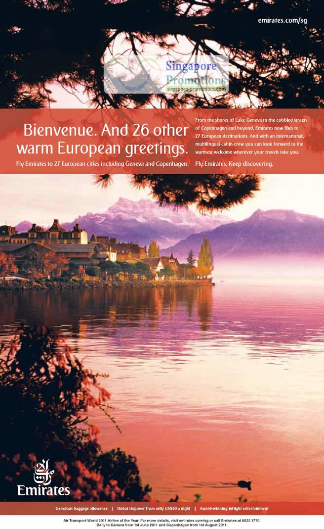 7 June Bienvenus 26 Other European Countries