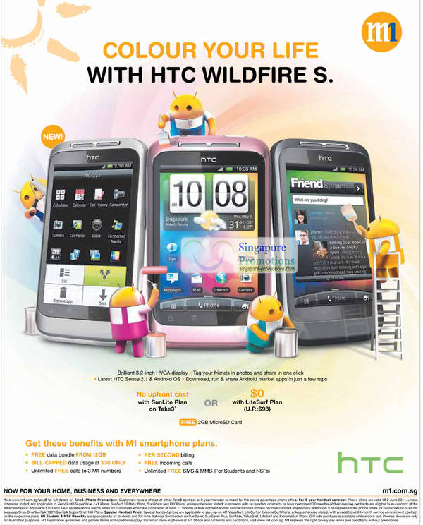 instructions htc wildfire mobile phone