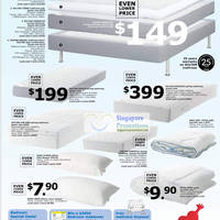 ikea sultan mattresses gosa syren mysa gras pillows price slash 5 may 2011. Black Bedroom Furniture Sets. Home Design Ideas