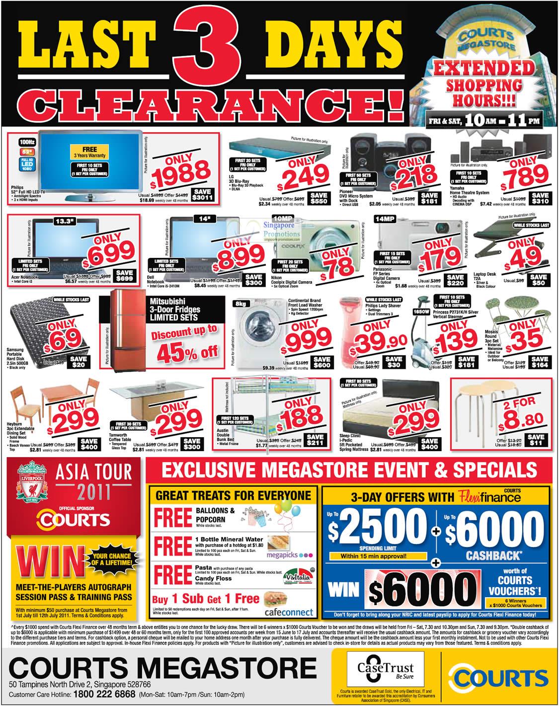 1 Jul Philips TV, LG Blu Ray, Nikon, Dell Notebook, Acer, Panasonic, Samsung 500GB External, Heyburn Dining Set, Tamworth Coffee Tablet, Austin Double Bunk Bed