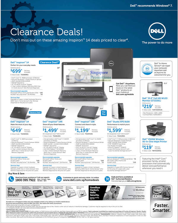 recommendation for dell