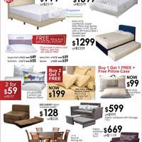 King Koil Mattress Bed Frame Amp Sofa Sale Isetan Scotts