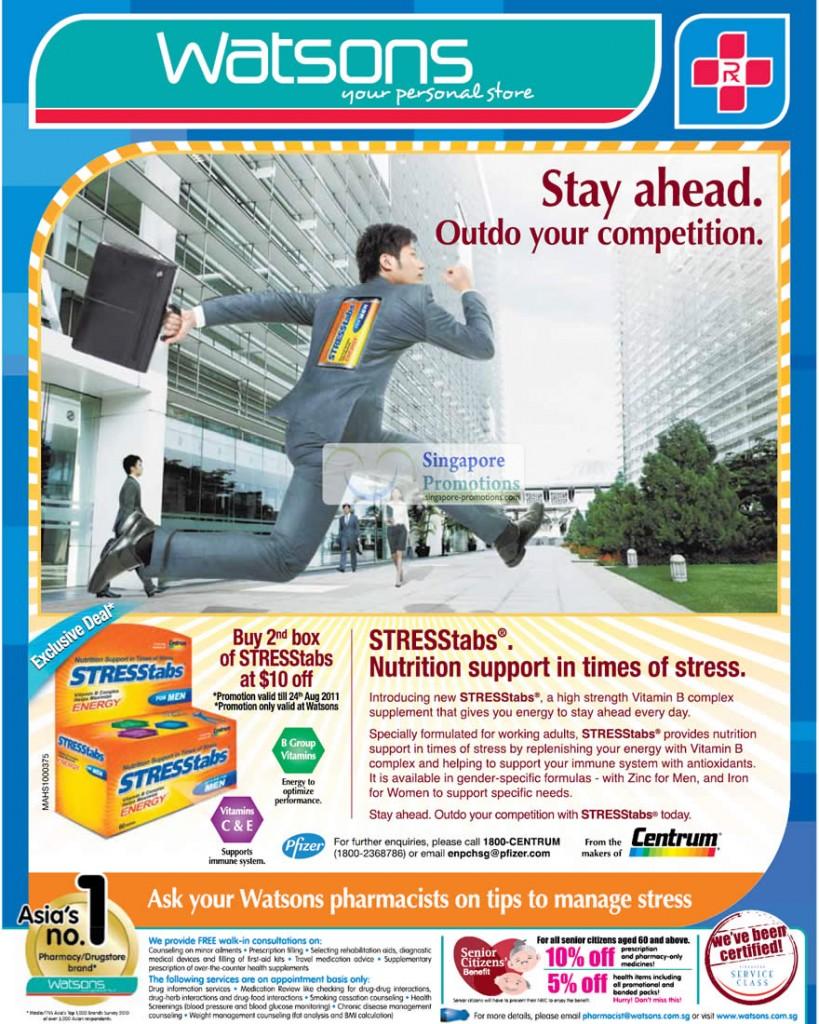 STRESStabs Vitamin B, Zinc, Iron