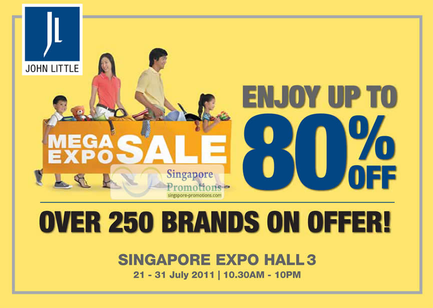 Up To 80 Percent Off, 250 Brands On Offer