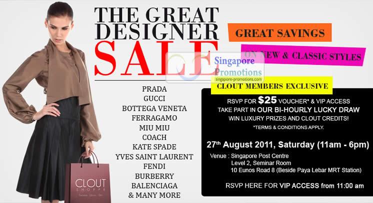 Clout Shoppe 26 Aug 2011