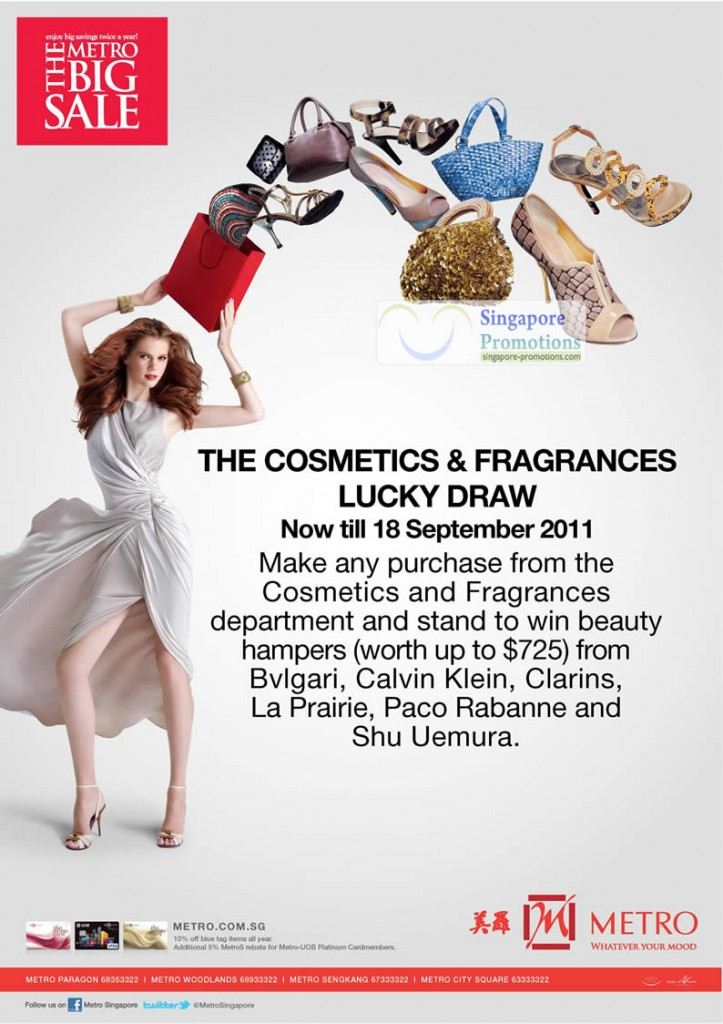 Cosmetics Fragrances Lucky Draw