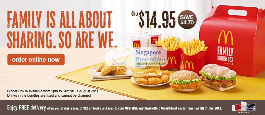Mcdonald S Save Up To 9 80 With New Family Dinner Box