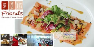 Featured image for LIMITED OFFER: Friends@Jelita 74% Off 4-Course Steaky Meal Set 31 Aug 2011