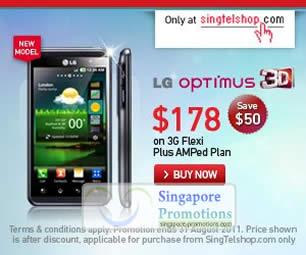 LG Optimus 3D Singtelshop