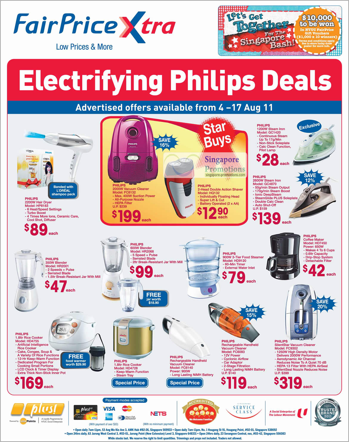 Philips Electronics Kitchenware, Husehold, Personal Care
