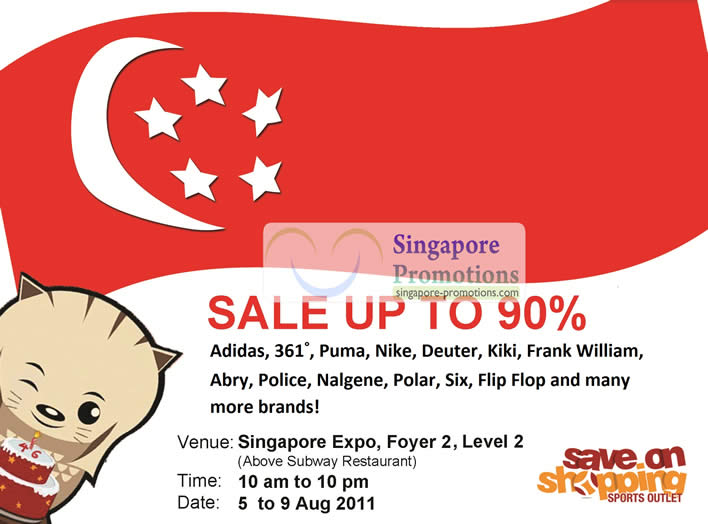 Save on Shopping 5 Aug 2011